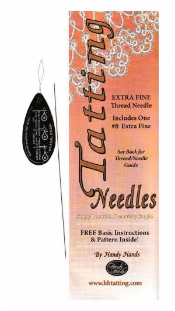 Tatting Needle 8 Extra Fine Hazel Blomkamps Fine Needlecraft