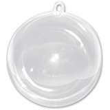 Darice Plastic Ball Clear 60 mm dia
